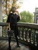 Model Show blouse TP00156 bloomers & skirt piece SP00183 bag P00633