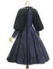 Back View (Dark Blue Ver.) (birdcage petticoat: UN00028)