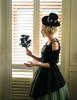 Model Show (Black + Cream Ver.) (dress: DR00205, tulle petticoat: UN00026, birdcage petticoat: UN00027)