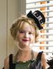 Steampunk Milliner Fascinators Decorated Handmade Wool Mini Top Hat Gear Pendants