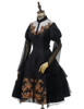 Front View w/o Sleevelets (Black Ver.) (tulle petticoat: UN00026, birdcage petticoat: UN00027)