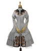 Front View w/o Sleevelets (Light Grey Ver.) (tulle petticoat: UN00026, birdcage petticoat: UN00027)