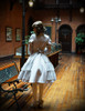Model Show (Light Grey Version) (tulle petticoat: UN00026, birdcage petticoat: UN00027)