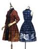 Group View (dark blue dress: DR00215, petticoat: UN00026)
