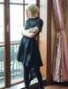 Model Show (Black Ver.) (silk dress underneath: S03037, mitts: P00621)