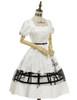 Side View (White + Black Bows & Prints Ver.) (birdcage petticoat: UN00019)