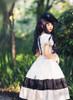 Model Show (White + Black Bows & Prints Ver.) Hat P00546