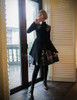 Model Show (Brown Ver.) (dress: CT00278, DR00187, skirt: SP00185, petticoat: UN00027)