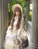 Model Show (Ivory + Gold Ivory Mixed Lace Ver.) (bonnet: P00577N, dress: DR00170N, petticoat: UN00026)