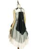 Back View (Sage Green + Light Ivory Ver.) (petticoat: UN00026)