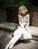 Vintage Gothic Fashion Midi Dress Womens Ethereal Summer Dress