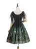Back Show (Dark Green + Gold Ver.) (petticoat: UN00026, UN00027)