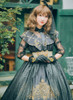 Model Show (headdress: P00607, dress: DR00220, cutsew: TP00137N, gloves: P00581, bracelets: P00530, petticoat: UN00026)