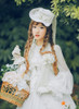 Model Show (White Ver.) (hat: P00546, brooch: P00570, gloves: P00592)
