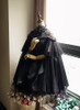 Front View under natural sunlight (Black Ver.) (petticoat: UN00026, bloomers: UN00025)