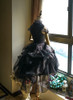 Side View w/o sleeve pieces under natural sunlight (Black Ver.) (petticoat: UN00026, bloomers: UN00025)