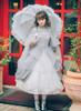Model Show (Light Grey Ver.) (headdress: P00626, overdress: DR00238, dress underneath: DR00222)