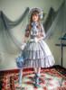 Model Show (Deep Grey Ver.) (bonnet: P00641, blouse: TP00137N, dress: DR00066N)