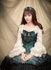 Model Show (Spirit Green + Black Ver.) (dress: DR00160N, blouse: TP00142N) *beads headdress NOT for sale