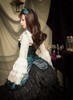 Model Show (Spirit Green + Black Ver.) (dress: DR00160N, blouse: TP00142N, petticoat: UN00026) *beads headdress NOT for sale