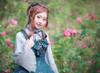Model Show (Pale Blue Ver.) (bowknot headdress: P00638, dress: DR00160N) *beads headdress NOT for sale