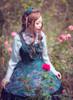 Model Show (Pale Blue Ver.) (bowknot headdress: P00638, dress: DR00160N, petticoat: UN00026) *beads headdress NOT for sale