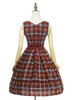 Back View (Cherry Red Plaid Ver.) (petticoat: UN00019)