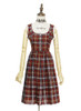 Front View w/o apron (Cherry Red Plaid Version)