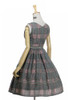 Back View (Sage Green Plaid Ver.) (petticoat: UN00019)