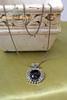 Gothic Black Jewel Decorated Pendant Necklace