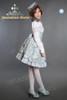 Model Show (fur collar: CT00200, blouse: V00014, skirt: SP00145, leggings: P00187)