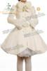 Front View (White Wool & Fur) (petticoat: UN00022, leggings: P00187, gloves not for sale)