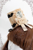 Last Chance: Bunny Alice Gothic Suede Mini Hat*3colors
