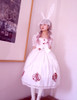 """""""Judgement"""" Alice Lolita Lace Bunny Ears Mask*2colors"""