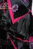 Gothic Wa Lolita Wine Peony Kimono 4Pcs Set