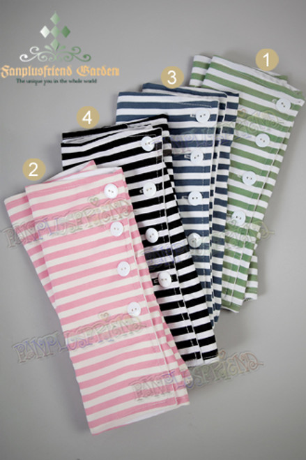 Last Chance: Country Lolita Wonderland DayDream Mitts/Cuffs/Gloves in Stripe*4colors Instant Shipping