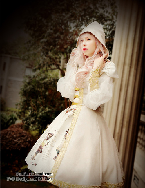 Model Show (White Ver.) (birdcage petticoat: UN00019)