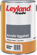 Leyland 5ltr Acrylic Eggshell Water Based Paint Brilliant White