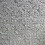 Anaglypta Classics Spencer Plain Textured Paintable Wallpaper RD0151