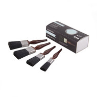 Hamilton Perfection Pure Black Bristle Paint Brush Set
