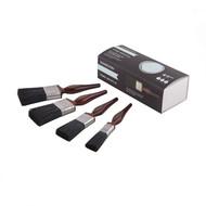 Hamilton Perfection Pure Black Bristle Paint Brush Set