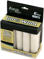 Axus Decor Blonde 100 Percent Natural Wool Mini Roller Sleeve (Pack of 10) AXU/RBLN410