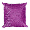 """Goya Girl"" Neoclassical Pop Art Green Purple decorative Pillows by BWM Collection"