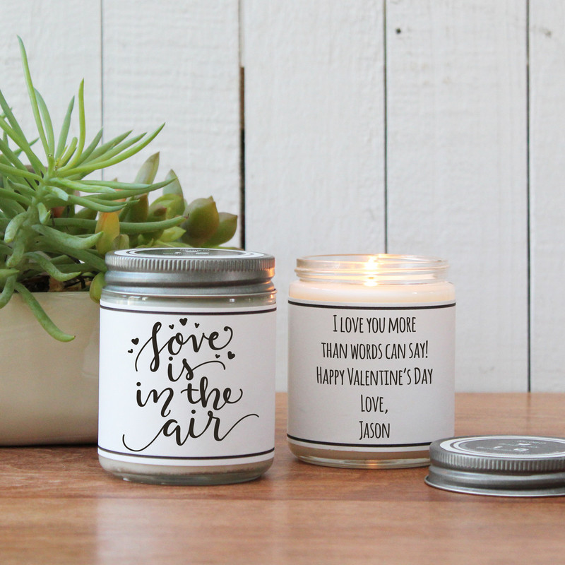 Love is in the Air - Valentine's Day Candle