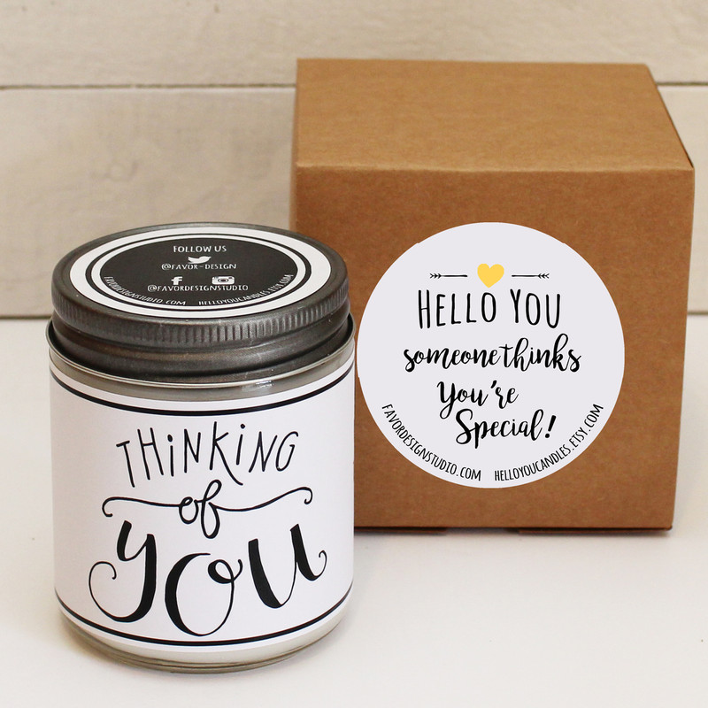 Hoppy Easter Soy Candle Gift