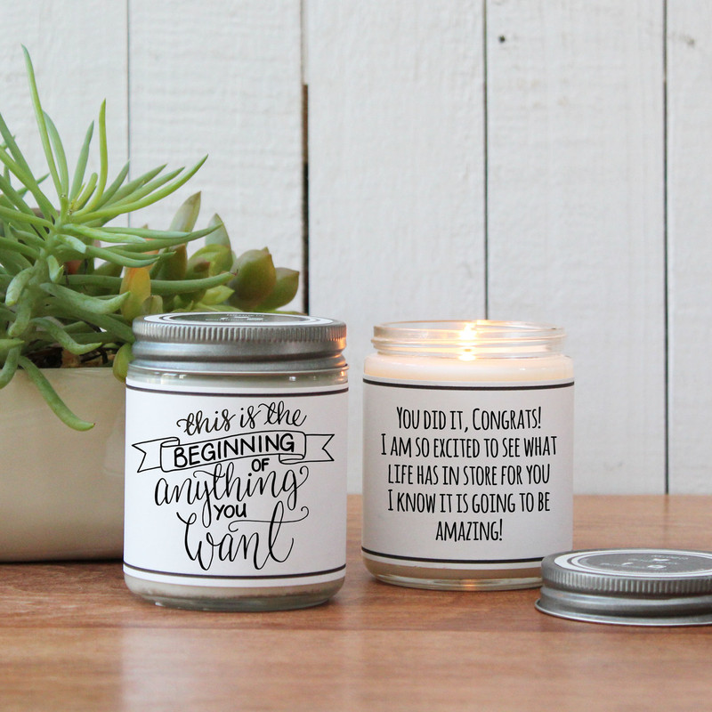 This Is The Beginning Of Anything You Want Candle