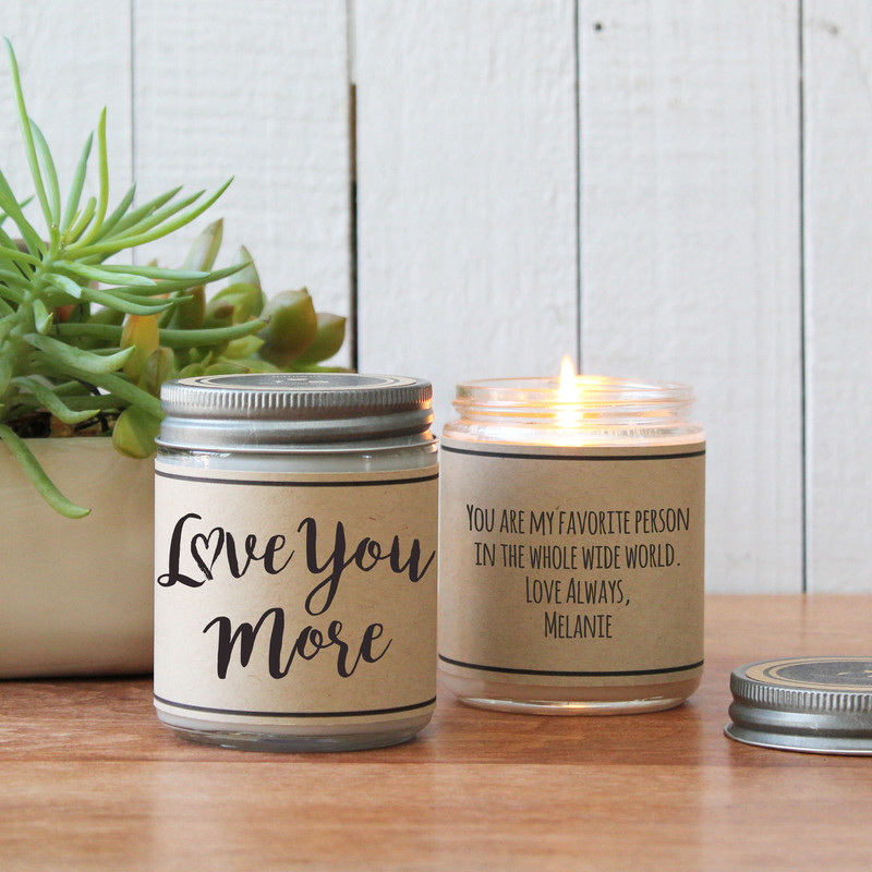Love You More Soy Candle