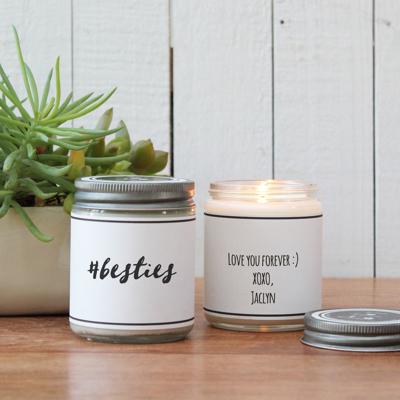 #Besties Soy Candle