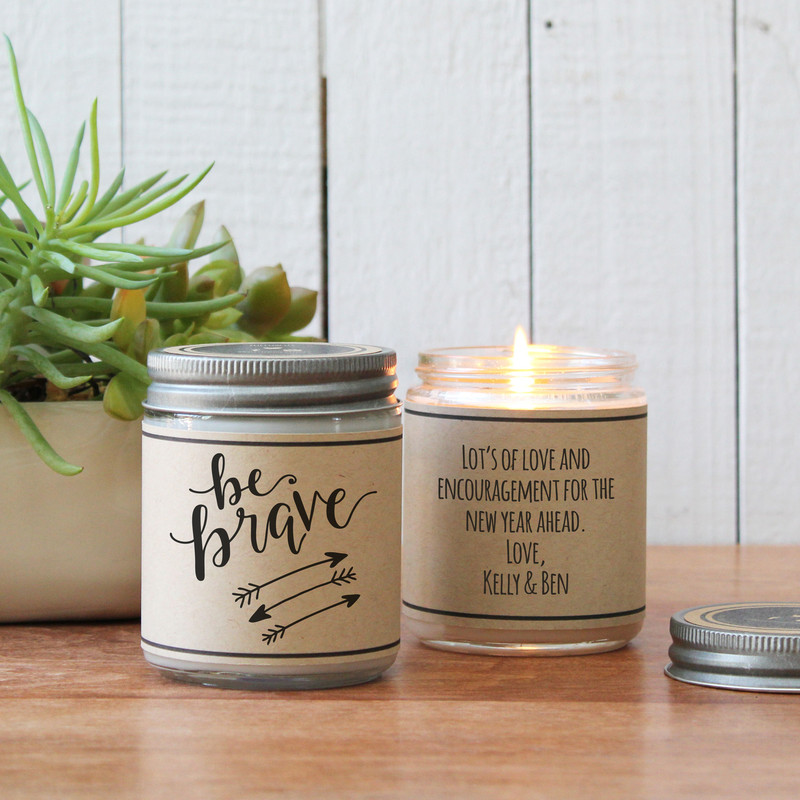 Be Brave Soy Candle Gift
