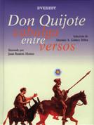 Don Quijote cabalga entre versos - Don Quixote Rides Among the Verses